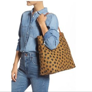 SEARCHIN FOR madewell transport tote/painted spots